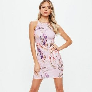 a8f2f8e4ae60 Missguided Dresses - Missguided purple floral dress size 2